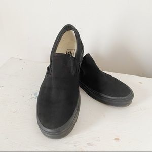 Men's Slip On Black Vans